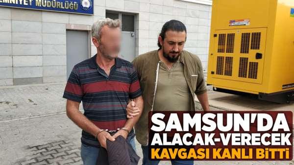 Samsun'da alacak verecek kavgası kanlı bitti