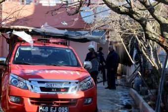 Kazan dairesindeki yangın korkuttu