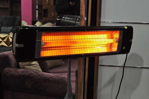 Soğuklarla birlikte elektrikli ısıtıcıların satışları da arttı