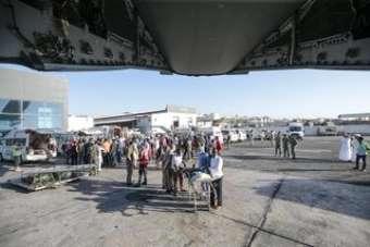 Somali'deki terör saldırısında yaralanan Türk vatandaşlarını ve Somalileri Türki