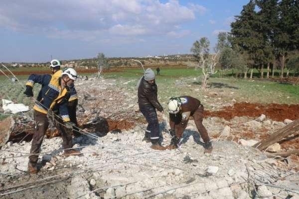 Suriye'deki rejim saldırılarında 12 sivil hayatını kaybetti
