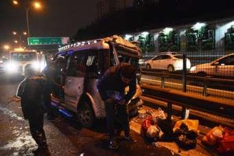 6 aracın karıştığı zincirleme kaza: 10 yaralı