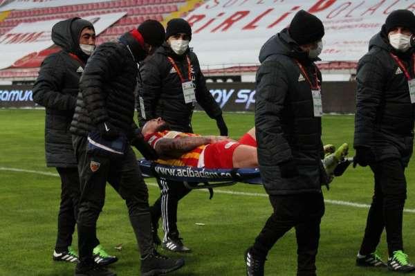 Kayserispor'da Alibec, 2-3 hafta yok