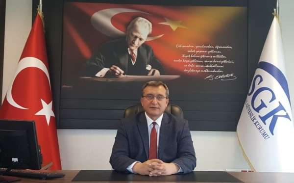 SGK İl Müdürü Mersim'den yapılandırma uyarısı