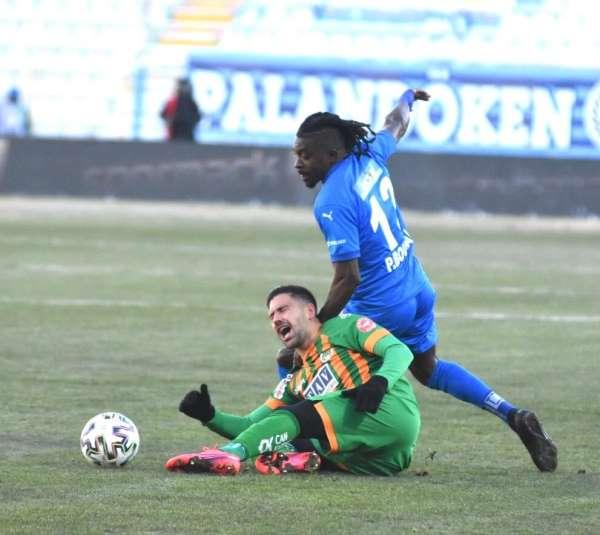 Süper Lig: BB Erzurumspor: 1 - Alanyaspor: 0 (İlk yarı)