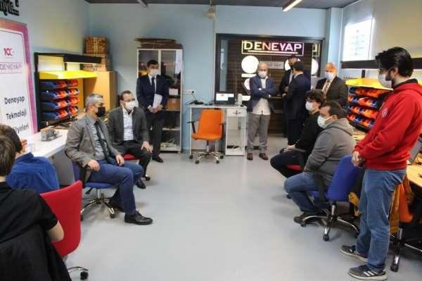 Genel Müdür Dr. Mehmet Ata Öztürk, Manisada gençlerle bir araya geldi