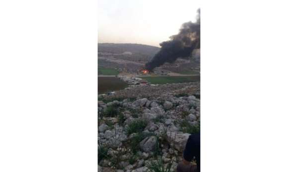 İdlib kırsalına hava ve füze saldırısı