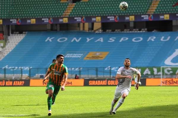 Süper Lig: Konyaspor: 1 - Alanyaspor: 0 (Maç sonucu)