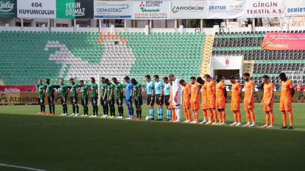 Süper Lig: Yukatel Denizlispor: 0 - Medipol Başakşehir: 0 (Maç devam ediyor)