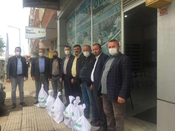 Çarşamba Ziraat Odasından 800 çiftçiye Ramazan yardımı