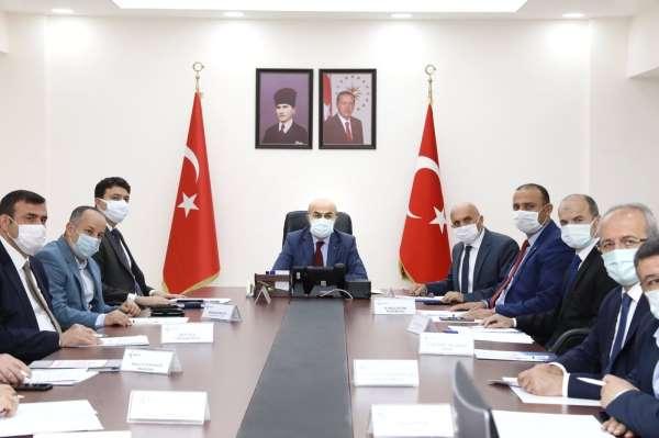 Mardinde il istihdam ve mesleki eğitim kurulu toplantısı yapıldı