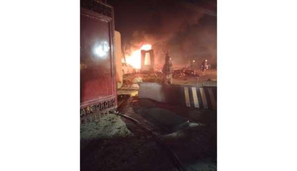Pakistanda lüks otelde patlama: 3 ölü, 11 yaralı