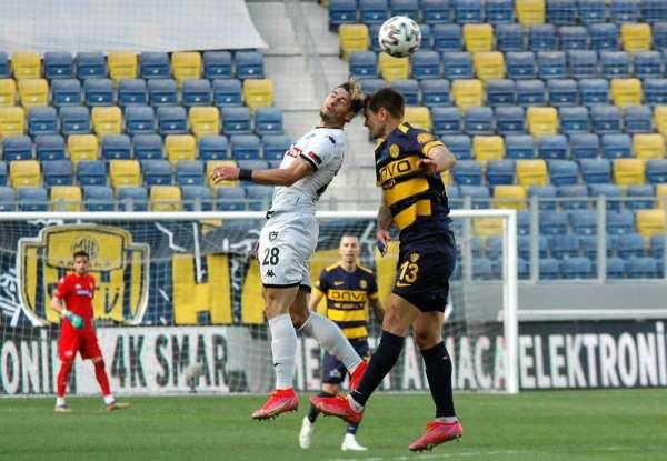 Süper Lig: MKE Ankaragücü: 1 - Y. Denizlispor: 1