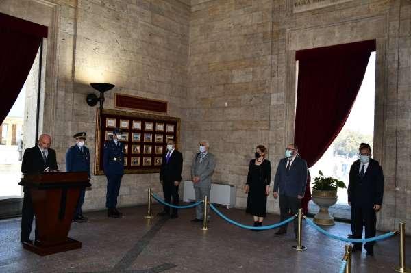 TSYD Ankara Şubesinden Anıtkabir ziyareti