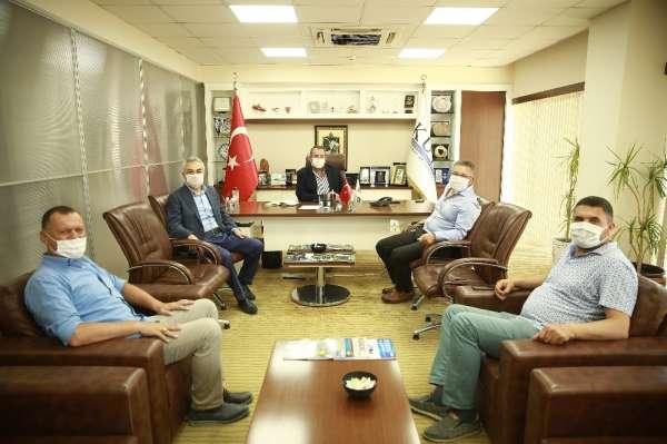 AK Parti Milletvekili Mustafa Savaş, KUTO'yu ziyaret etti