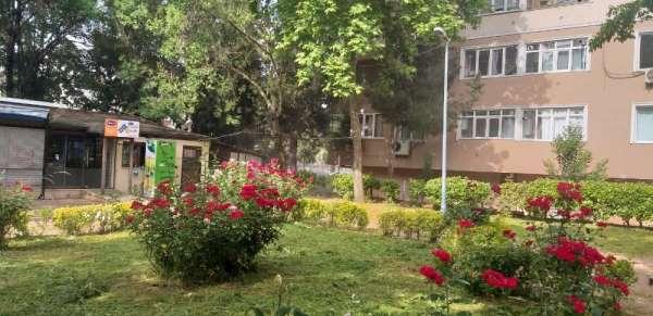 İzmit'te, Şehitler Parkı'na bayram bakımı