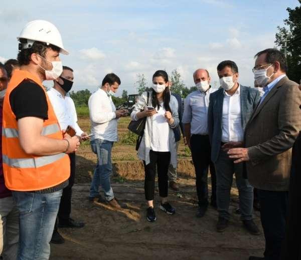 Başkan Demir: 'Altyapıyı 3 sene içinde bitireceğiz'