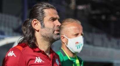 Bursaspor'da İbrahim Üzülmez dönemi sona erdi