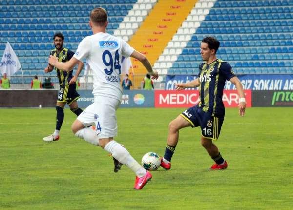 Süper Lig: Kasımpaşa: 2 - Fenerbahçe: 0 (Maç sonucu)
