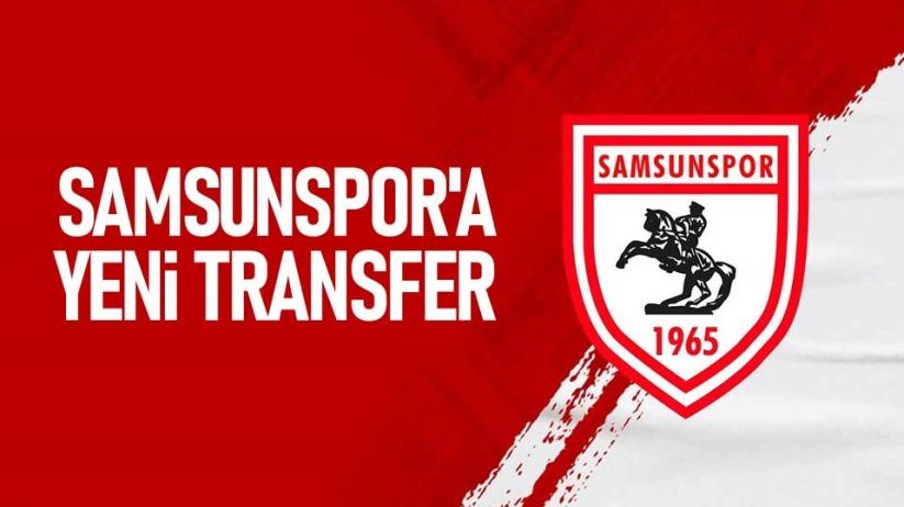 Samsunspora yeni transfer