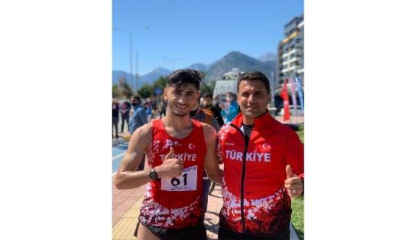 Atlet Serhat Güngöre Milli Takım kampı daveti