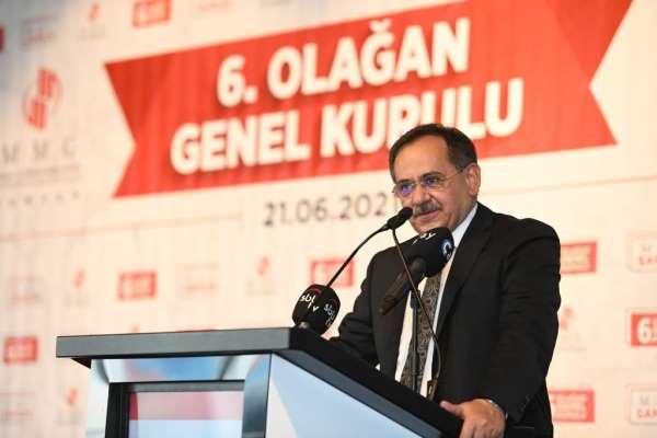 Başkan Demir: Her yıl ortalama bir ilçe nüfusa ekleniyor
