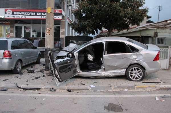 Denizlide 1 haftada 106 trafik kazası meydana geldi