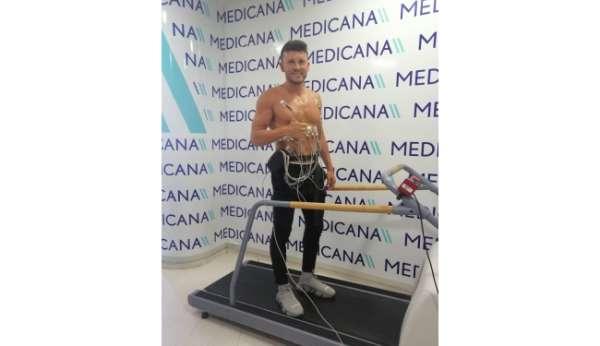 Sivassporun yeni transferi Sefa Yılmaz sağlık kontrolünden geçti