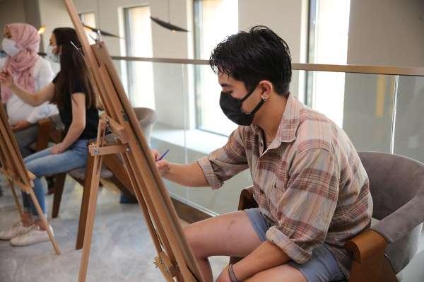 Üniversite adaylarına akademik resim kursları yoğun ilgi görüyor