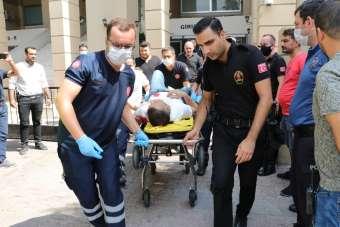 Adana Adliyesinde silahlı saldırı: 6 yaralı (2)