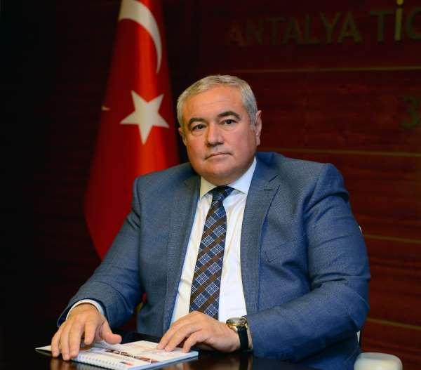 ATSO Başkanı Çetin: 'Antalya özel olarak ele alınmalı'