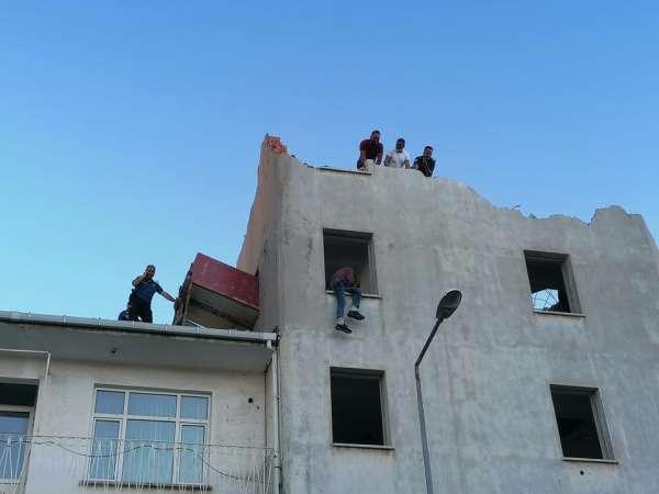 Çan'da intihar girişimi
