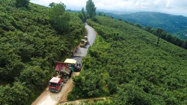 Fatsa'da kırsal mahallelerin yol kalitesi artıyor