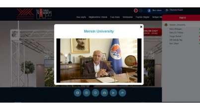 Mersin Üniversitesi, YÖK Sanal Fuarında tanıtılıyor