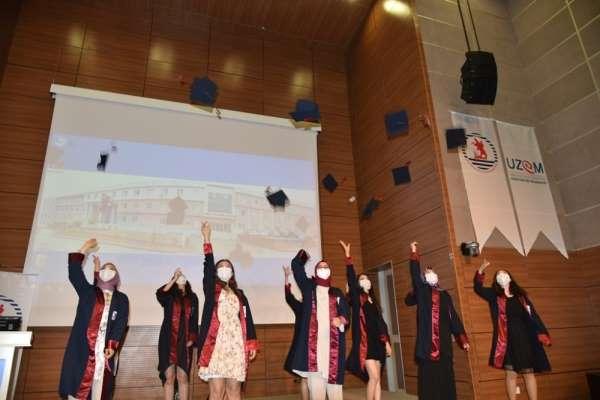 OMÜ Sağlık Bilimleri Fakültesi mezuniyet töreni online gerçekleşti
