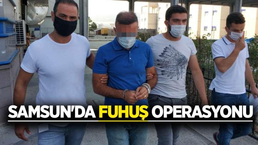 Samsun'da fuhuş operasyonu