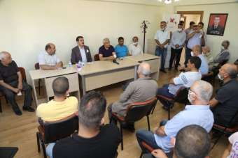 Şehit Fevzi Mahallesi'nde kentsel dönüşüm istişaresi