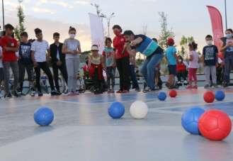 Sivas'ta Bocce sporu tanıtıldı