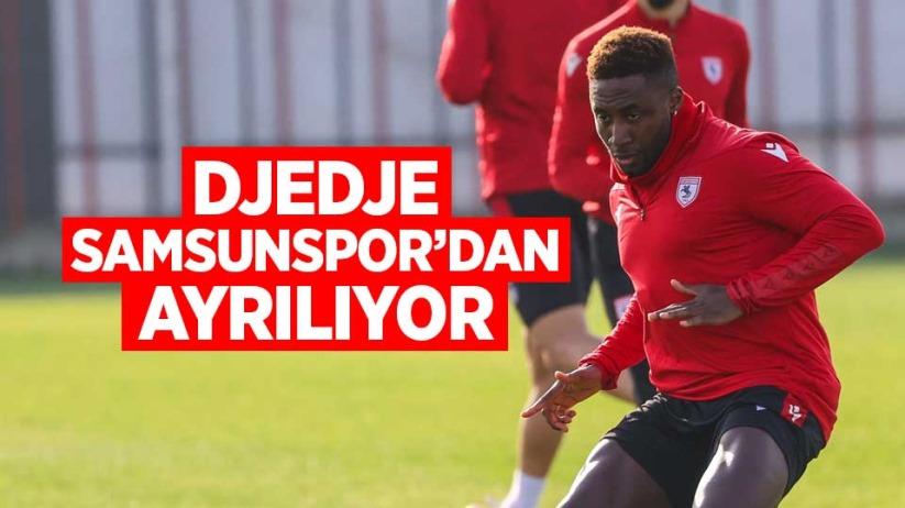 Djedje Samsunspordan ayrılıyor