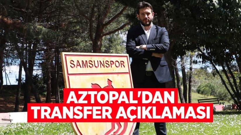 Aztopaldan transfer açıklaması