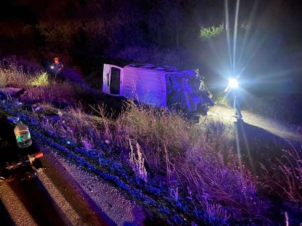 Afyonkarahisarda zincirleme trafik kazası: 3 ölü, 2 yaralı