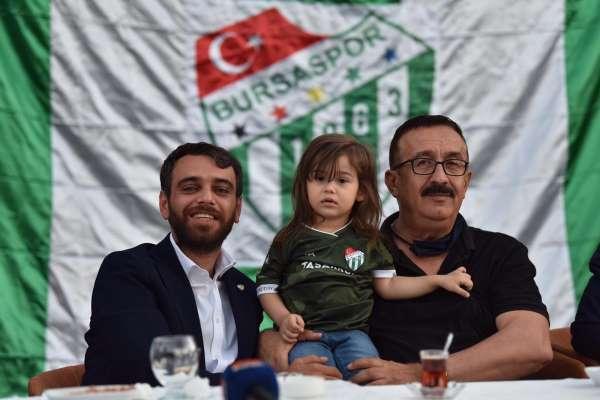 Bursaspor camiası Emin Adanurdan sürpriz bekliyor