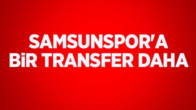 Samsunspora bir transfer daha