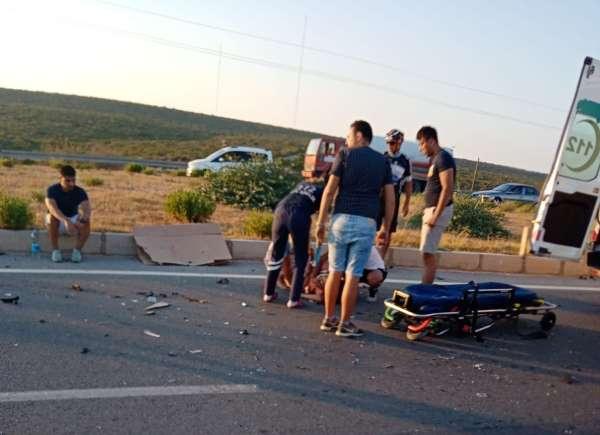 Didimde trafik kazası: 1 ölü, 5 yaralı