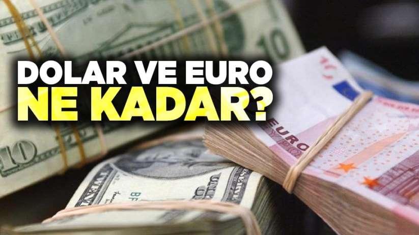 21 Ekim Pazartesi Samsunda Dolar ve Euro fiyatları güncel fiyatlar