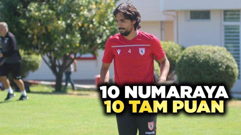 Samsunspor'da 10 numaraya 10 tam puan