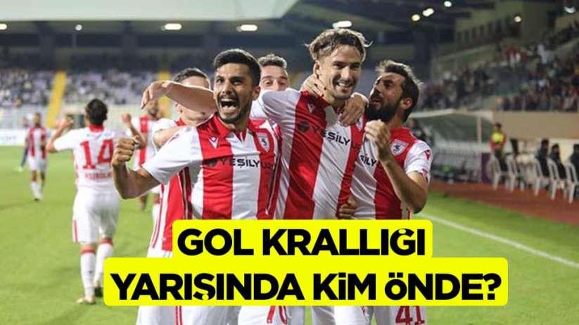 Samsunspor'un Liginde Gol Krallığı Yarışında Kim Önde?