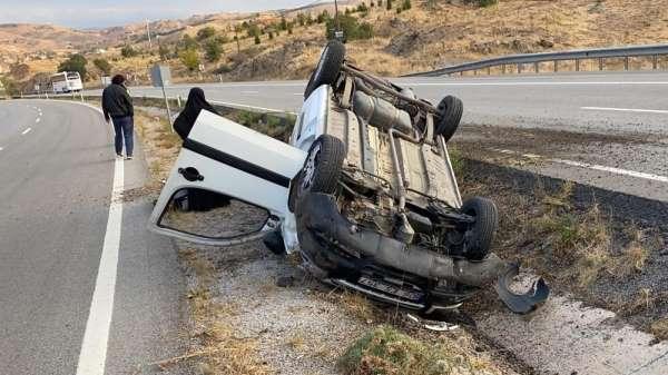 Kırıkkale'de trafik kazası: 2 yaralı