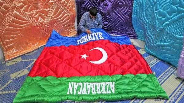 Türkiye Azerbaycan dostluğunu yorgana işledi