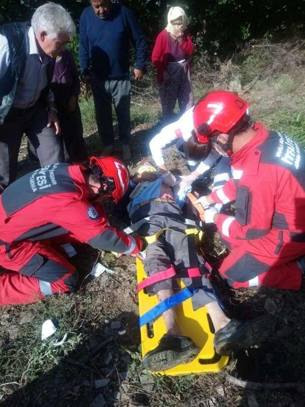 Yatağan'da kaza: 1 yaralı